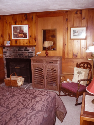 suite with fireplace too